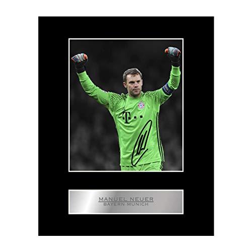 Manuel Neuer Autogramm/Autogramm/Autogramm/Bild Bayern München FC #01