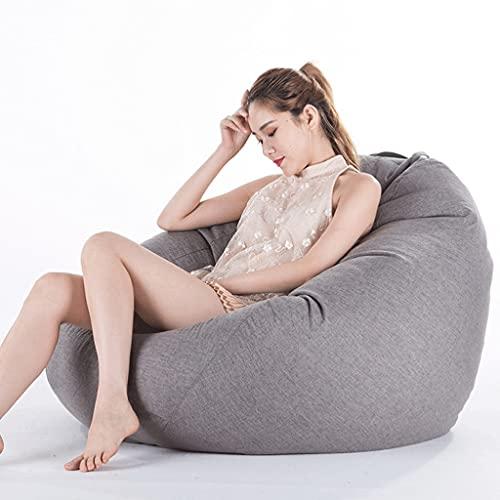 WGYDREAM Sitzsack Bean Bag Gamer Stuhl Ergonomischer Entwurf for Körper-Unterstützung Wohnzimmer Gamer Bean Bags Sofa Bean Bag (Color : G, Size : 75 * 95CM)
