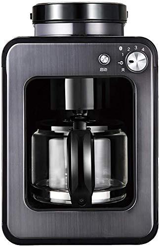 Dsnmm Volledige Automatische Slijpen Koffiemachine Thuis Kantoor Amerikaanse Koffiemachine Koffiemachine Kleine Smart Bean-to-Cup Koffiemachine-Zwart