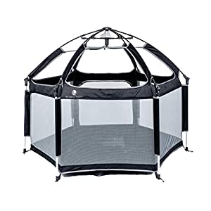 Pop 'N Go Portable Playpen – Lightweight, Folding, Easily Collapsible Play Yard Crib for Indoor & Outdoor Play – Perfect Canopy Play Pen for Any Baby Toddler or Small Child