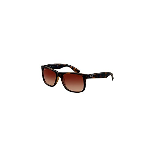 57eb0f34224ec Ray-Ban Justin RB 4165 Sunglasses Rubber Light Havana   Brown Gradient 55mm