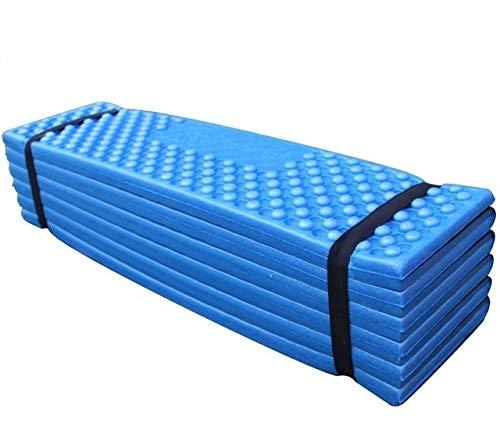 Ruyu 187x57cm Außen Isomatte Ultraleicht-Schaum Isomatte Folding Strand-Zelt-Picknick-Matte Schlafenauflage wasserdichte Camping-Matratze (Color : Blue)