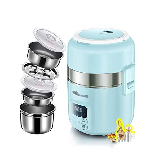 Zsh Olla arrocera (2 litros / 600W / 220V) función de Aislamiento, Olla Interior, espátula y Taza medidora - 3-4 Personas.