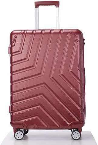 Suitcase Hardside Bombing free shipping Our shop most popular Luggage Sets 3 Whee Spinner with Pieces Double