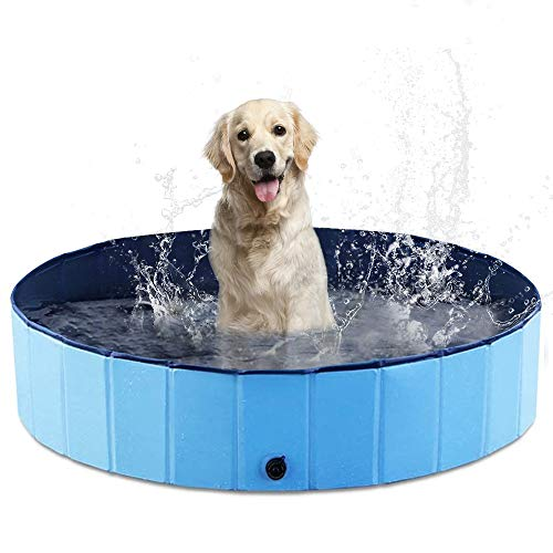Foldable Dog Pet Pool $21.20 (60% Off with code)