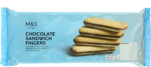 Marks & Spencer Chocolate Sandwich Fingers