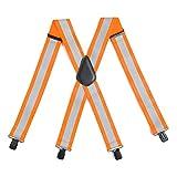 Carhartt High-Visibility Rugged Flex Suspender, Brite Orange, One Size