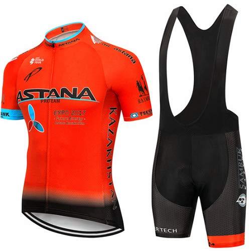 Hplights Bike Wear Ropa Ciclismo Equipacion Hombres Maillots Seco y Transpirable de...
