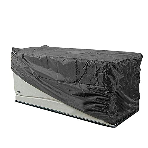 ROM Cubierta de Polvo para Muebles, Cubierta de Mesa y Silla, Resistente al desgarro, Cubiertas de jardín al Aire Libre, Cubierta de ratán para sofá de Muebles Anti-UV, T