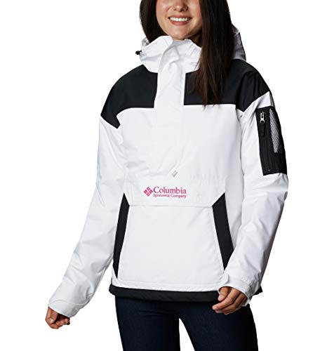 Columbia Challenger Suéter para Mujer, Blanco, Negro (White,...