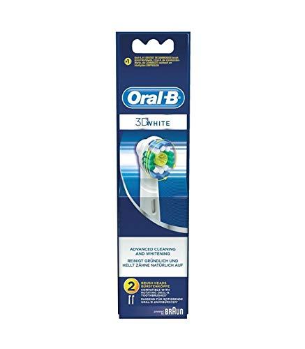 Oral-B 3D- White Aufsteckbürsten für elektrische Zahnbürste 2 St. Weiß