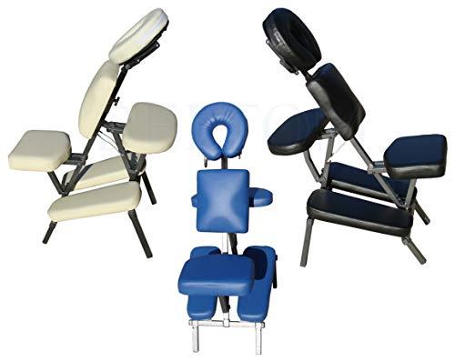 Beltom Fauteuil/Chaise de Massage Tatouages Tattoo Traitement Pliante Portable Table - Noir