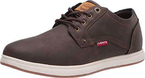 Levi's Mens Arnold Waxed UL NB Classic Fashion Sneaker Shoe, Brown, 9.5 M