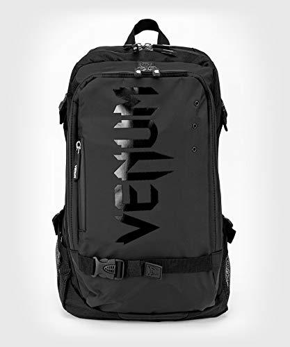 Venum Unisex-Adult Challenger Pro Evo Rucksack, Schwarz/Schwarz, eine Größe