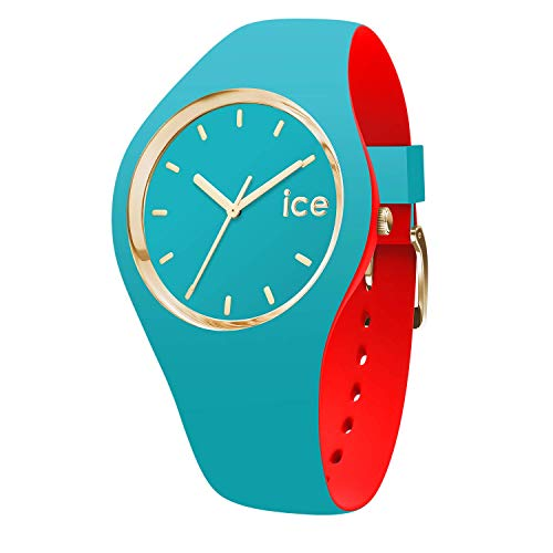 Ice-Watch - ICE loulou Bahamas - Türkise Damenuhr mit Silikonarmband - 007232 (Small)
