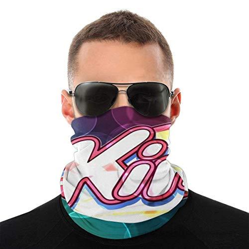 Star Card Kir-by Face Bandana Fashion Variety Head Scarf Scarf Scarf For Dust Outdoors Festivals Sports