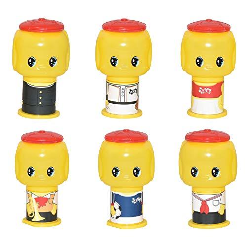 フエキ のり フエキくんグルー 限定 6種類入り 学校バージョン GD6K3-AM