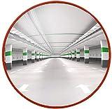 F.L.S Espejo de Tráfico Convexo de Seguridad Espejo de tráfico Pc Cubierta Lente Gran Angular supermercado antirrobo Espejo Espejo Espejo de Esquina Carretera de Seguridad Espejo Convexo