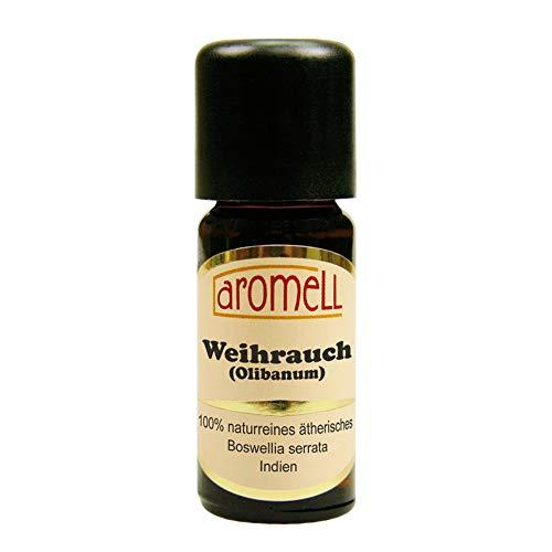Weihrauch (Olibanum) - 100{c3f1b316a1a2e2012cdee9c1301d747a5afd5f570ebc6402994c0ef2c737f477} naturreines, ätherisches Öl aus Indien, 10 ml
