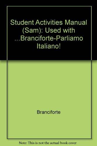 Parliamo Italiano Student Activities Manual (Italian Edition)
