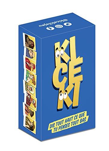 KICÉKI - Jeu de Cartes Adulte pour Apéro & Soirées – Jeu de société adulte / jeu d'ambiance / jeu apéro