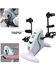 Training Equipment Movement Trainer For Seniors 2-In-1 Arm And Leg Trainer With Motor Rehab Trainer Exercise Bike Pedal Trainer With A Pair Of Brackets LULALAY