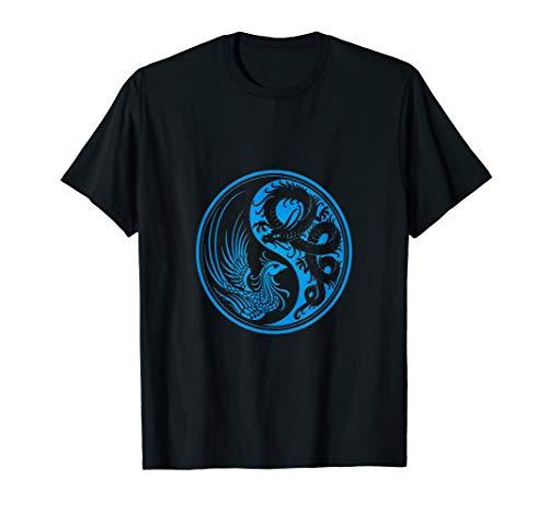Dragon Phoenix Ying Yang T-Shirt