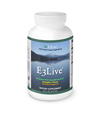 E3Live AFA Frozen Blue-Green Algae 6-Pack, 16 oz. Bottles