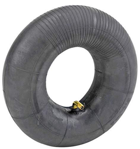 Manguera para rueda de HKB, ideal también como manguera de repuesto, con válvula angular de TR87 de metal, 3,00-4 TR87C, adecuada para carretillas, carros y carretillas de mano