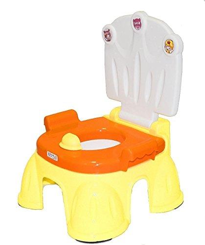 Best For Kids N3494Z orange Lerntöpfchen Töpfchen mit Fußbank 2 in 1 Baby Gear Royal Potty