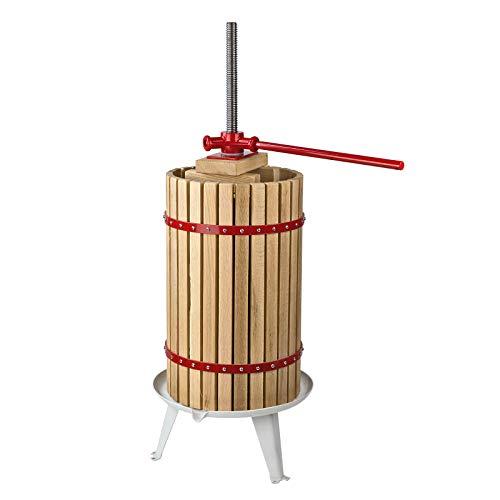 DEMA Obstpresse Beerenpresse Saftpresse Weinpresse Presse Trento 30 Liter L…