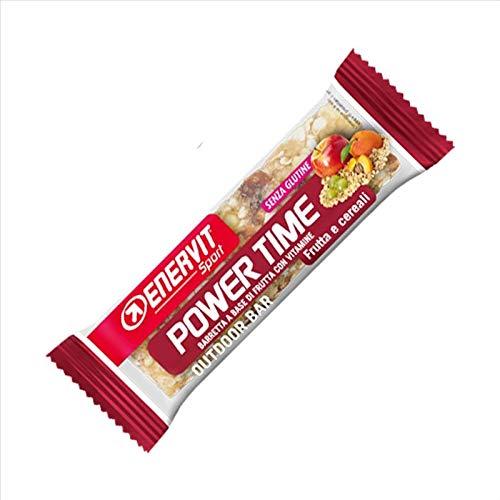 Enervit Power Time Barretta Frutta e Cereali Senza Glutine 35g
