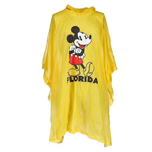 Disney Poncho de pluie Mickey mouse en Floride pour homme Taille unique Bleu