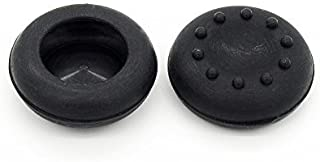 HOMEKE 1 Pair/2 Pcs Replacement Silicone Analog Controller Joystick Thumb Stick Grips Cap Cover For PS3 / PS4 / Xbox 360 / Xbox One / Wii Game Controllers (black)