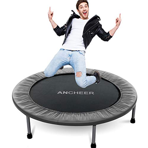ANCHEER Mini Trampoline with Safety Pad, Bouncer Max Load 220lbs