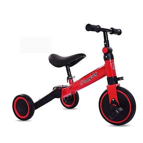 LINQ Kids Toddler 3 Wheels Pedal Bike - Bersey Kids Thrike, neumáticos Resistentes al Desgaste y a Prueba de explosiones, triciclos con manillares Suaves y cómodos y Pedales Antideslizantes, R