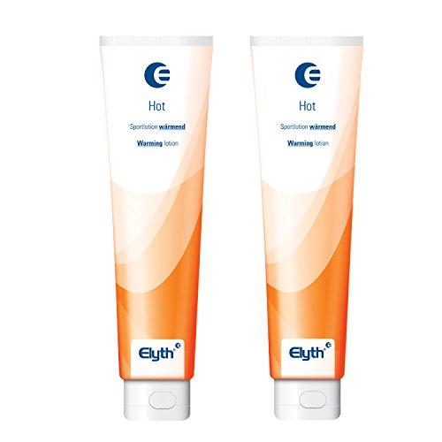 2 Stück Elyth Hot mit durchblutungsfördernder und nachhaltig wärmender Wirkung