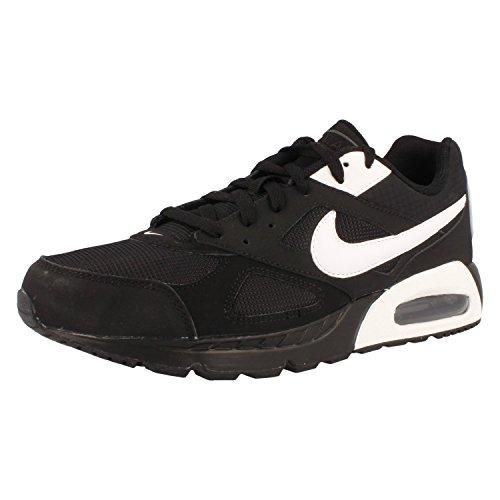 Nike Herren Air Max Ivo Turnschuhe, Negro / Blanco / Negro (Black / White-Black), 42.5 EU