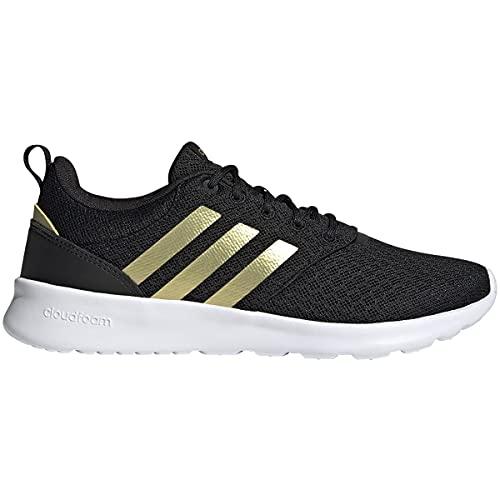 adidas QT Racer 2.0 Black/Gold Metallic/White 11 B (M)