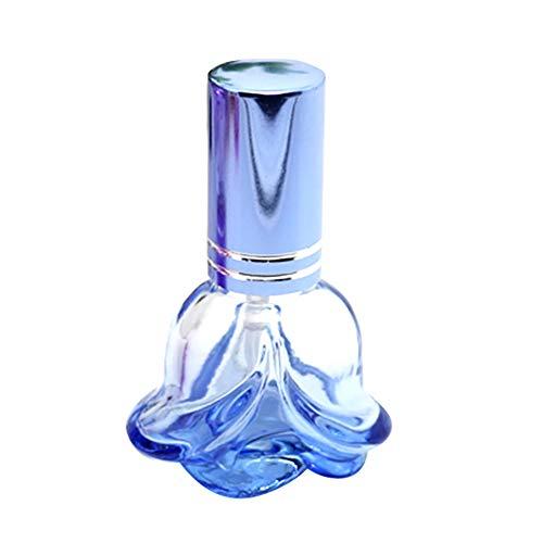 RIsxffp 6 ML Rose Mini Portable Voyage Rechargeable Pulvérisation Parfum Atomiseur Verre Vide Bouteille De Stockage Bouteille Couleur aléatoire