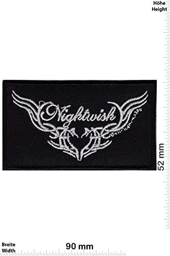Nightwish Heart Symphonic Metal Band Patch Badge Applique Geborduurd IJzer op