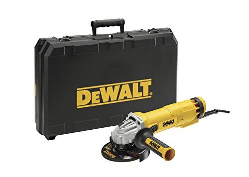DeWalt DWE4217KD Miniamoladora 125mm 1200W + 1 disco de diamante + maletin