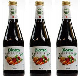 (LOT DE 3) - Biotta - Organic Breuss Juice | 500ml | LOT DE 3