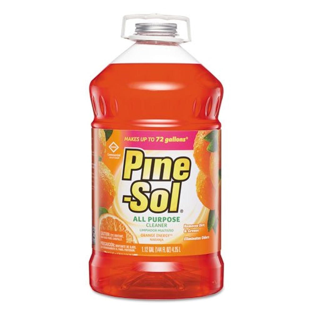 Pine-Sol(R) Orange Energy(R) Cleaner, 144 Oz, Box Of 3