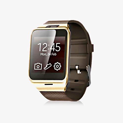 KawKaw GV18 Smartwatch mit riesigem 1,56 Zoll TrueColour-Screen überzeugt mit 1,3 MP Kamera, Fitnessfunktionen und ist als Telefon nutzbar.