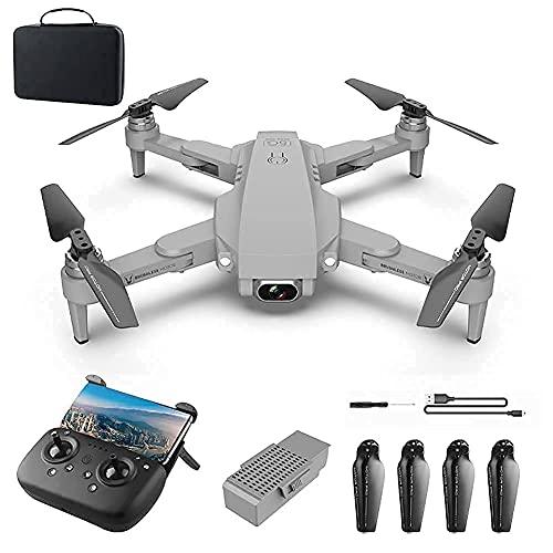 Drone con Fotocamera Drone GPS per Adulti con Fotocamera 4K 5G FPV Live Video per Principianti,Quadcopter RC Pieghevole con Ritorno Automatico a casa,Seguimi,modalità Senza Testa,Moto Senza spazzole