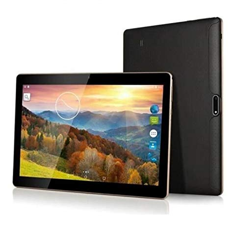 Tablettes Tactiles 2GB RAM + 16GB ROM - Dual Camera Dual SIM - TEENO 10 Pouces Tablettes, Noir(Noir-2+16GB)