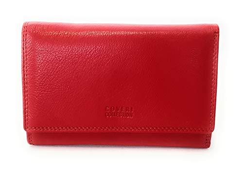Coveri Collection Portafoglio Donna in pelle Rosso art.161