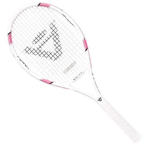 Raquetas De Tenis Juego Universal para Niños Y Niñas para Principiantes Superficie De Gran Tamaño (Color : Pink, Size : 69cm/27 Inches)