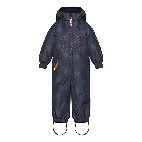 Racoon Baby-Boys Lukas Star Winter Suit Snowsuit, Stars with RED, 98